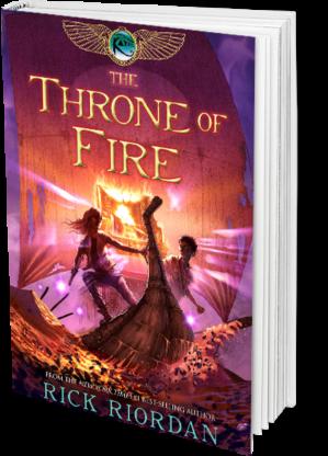 The Throne of Fire – Rick Riordan