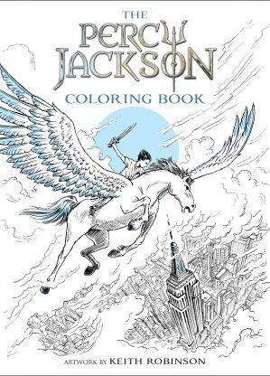 Resultado de imagen de percy jackson coloring book
